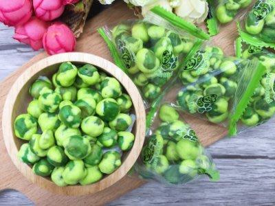 香脆芥末豆(芥末青豆)12包入