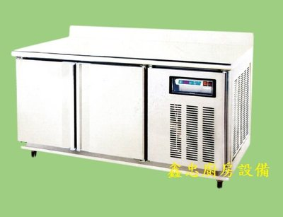 鑫忠廚房設備-餐飲設備:全新TG系列四尺工作檯冰箱-賣場有-西餐爐-快速爐-烤箱-咖啡機