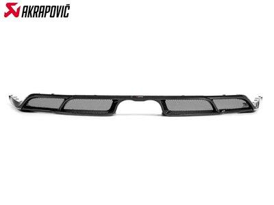 【樂駒】Akrapovic PORSCHE 911 GT3 991.2 Carbon 碳纖維 後下擾流 亮面 空力