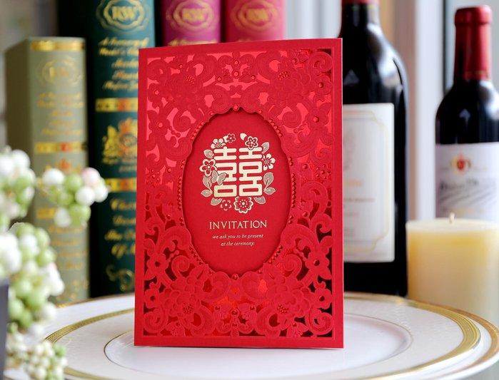 『潘朵菈精緻婚卡』影像設計喜帖 ♥ 立體浮雕17元喜帖系列 ♥ 喜帖編號: HG-6233