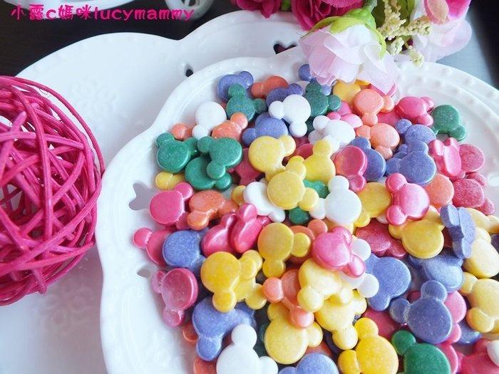 小露c媽咪 加拿大3LSprinkles 食用糖珠LM0015 50g 米奇老鼠糖片/食用糖珠/裝飾糖珠/彩色糖珠