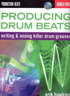 [反拍樂器] 進口書籍 Producing Drum Beats/附CD (免運費)