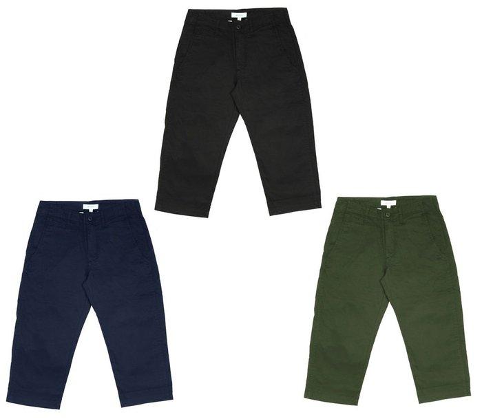 { POISON } SKATOPIA NEW CROPPED PANTS 夏季高密棉布料 全新版型8分寬褲