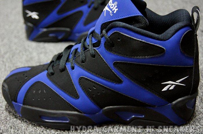 【HYDRA】REEBOK KAMIKAZE 1 MID 復刻 Kemp 坎普 黑藍 GS 男 女鞋 US5~11 熱狗