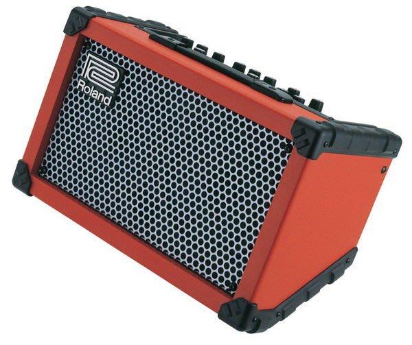 ☆ 唐尼樂器︵☆公司貨 Roland Cube Street 立體聲電池供電街頭藝人專用音箱(含數位效果器)
