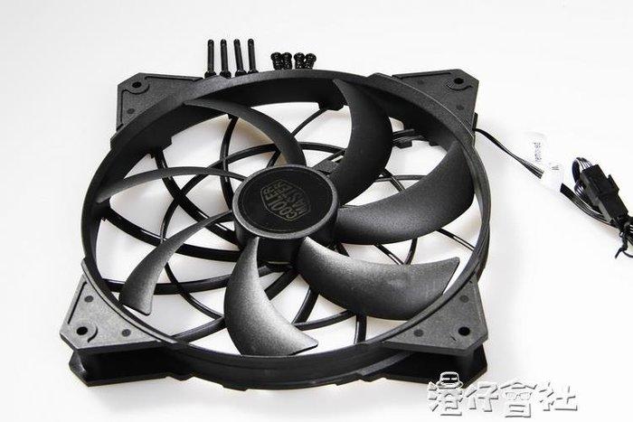 靜音 風扇 散熱風扇 12v 18釐米 電腦機箱散熱器YYS