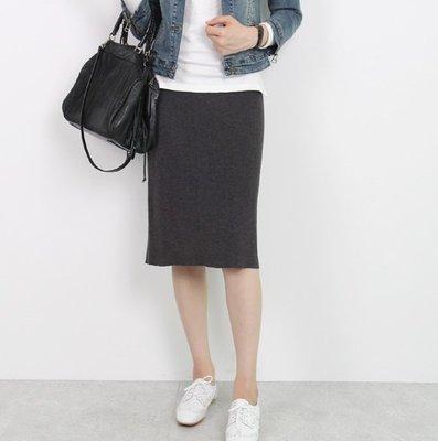 Forever Kids 韓國代購 正韓 好版型及膝裙針織窄裙【S92348】