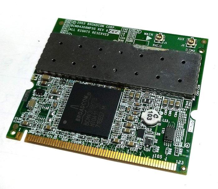 【可刷卡】筆電 筆記電腦 mini pci 無線網卡 Broadcom