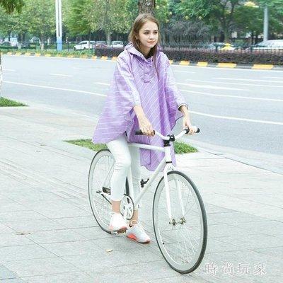 單人旅游登山雨衣成人韓版時尚外套裝長款雨披 ZB314