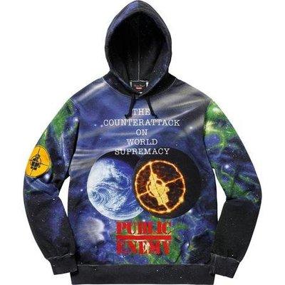 【紐約范特西】現貨 Supreme UNDERCOVER/Public Enemy Sweatshirt 聯名帽t