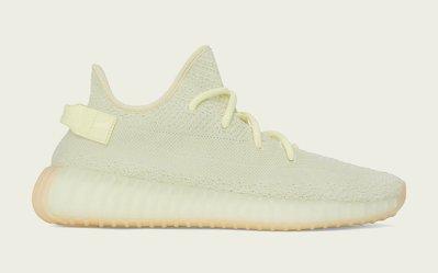(A.B.E)adidas Yeezy Boost 350 V2 Butter F36980 奶油黃 男女潮鞋