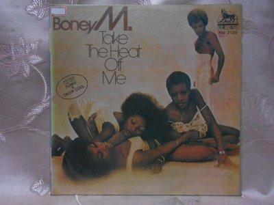 【采葳音樂網】-西洋黑膠–BONEY M〝TAKE THE HEAT OFF ME〞1212
