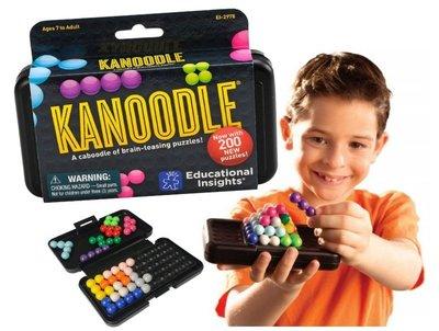 【雷恩的美國小舖】Educational KANOODLE 大腦益智遊戲 桌遊 2D 3D 智力拼圖 聖誕禮物 益智玩具