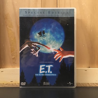 E.T.外星人(E.T. the Extra-Terrestrial) 二手良品DVD 迪·沃倫 史蒂芬·史匹柏