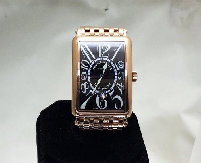 順利當舖 Franck Muller/法蘭克穆勒 新款大錶徑45*32mm Long Island全18K玫瑰金自動男錶
