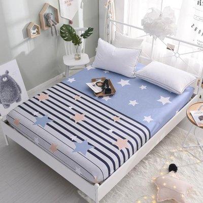 床笠單件全棉純棉床單防塵床套1.2m1.5米1.8床墊席夢思保護套床罩
