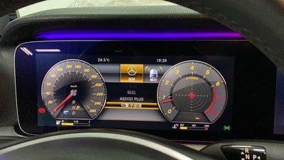 BENZ W213原廠數位全液晶儀表 開通AMG儀表