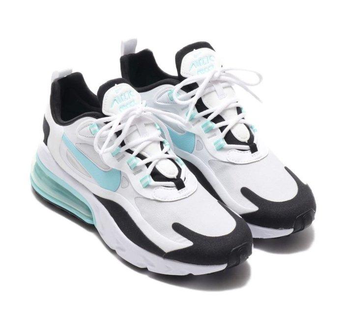 【OB海外連線】Nike Air Max 270 React 湖水綠 白 綠 氣墊 慢跑鞋 女鞋 CJ0619-001