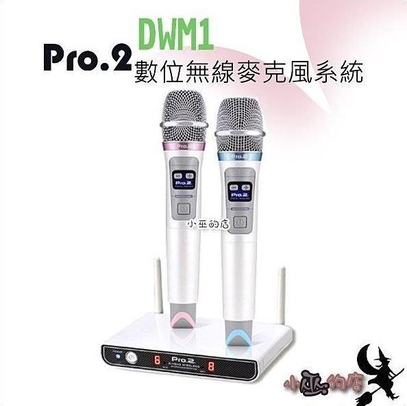 「小巫的店」實體店面*(DWM1)數位無線麥克風‥獨創2.4G數位無線技術 高速傳輸優勢