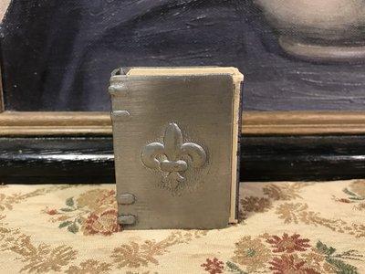 歐洲古物時尚雜貨英國 金屬火柴盒套和火柴盒合賣  一組2件 擺飾品 古董收藏
