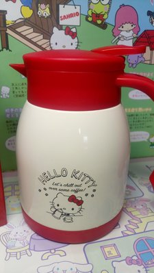 雙子星店 Sanrio Hello Kitty 保溫保冷水壺 coffee 壺  容量 600ml 日本Sanrio