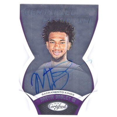 (RC) 國王未來 Marvin Bagley / Certified Potential Rookie系列新人RC卡面簽名卡 2018-19
