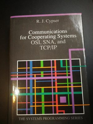 Communication for Cooperating Systems OSI SNA and TCP/IP IBM编辑 原版精裝書