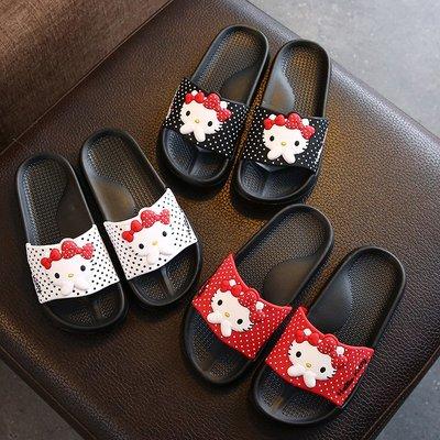 kitty凉拖鞋女夏天家用家居室内防滑轻便可爱亲子女童拖鞋