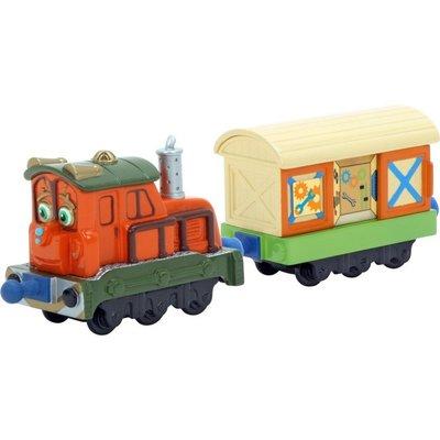 CHUGGINGTON 恰恰特快車~  calley卡莉 / 卡莉 的車廂 合金車 ((新的))。可跟合金湯瑪士軌道互用