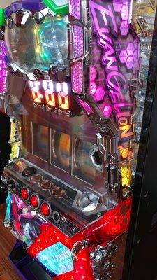 柯先生日本館原裝SLOT斯洛2015新世紀福音戰士希望之槍拉霸機台漫畫迷.電玩迷超珍藏佈置超強潮個性房間.大型家用遊戲機