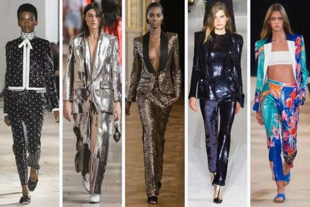 原價28萬 法國🇫🇷帶回 滿滿精緻亮片秀款長褲