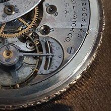 ELGIN黃金懷錶ROLEX AP OMEGA IWC PANERAI ORIS EPOS RADO一元起標GP 手錶