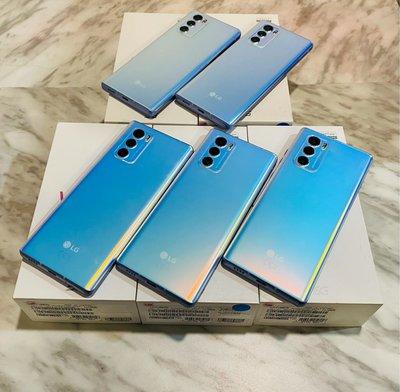 🌈二手機 台灣版 樂金LG WING (5G 8RAM 128GB 6.8吋 雙螢幕)