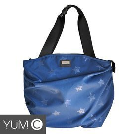 【風雅小舖】【美國Y.U.M.C格林系列Shopper 13.3吋 2WAY手提/側背筆電包 藍色】電腦包/斜肩包