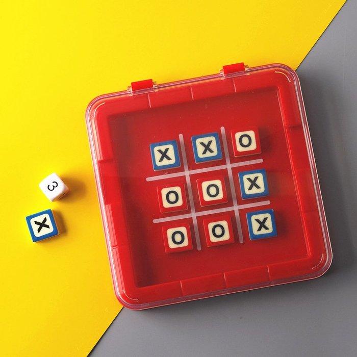 衣萊時尚-兒童益智類 XO棋專注力思維訓練 雙人家庭親子互動桌面游戲玩具(規格不同價格不同)