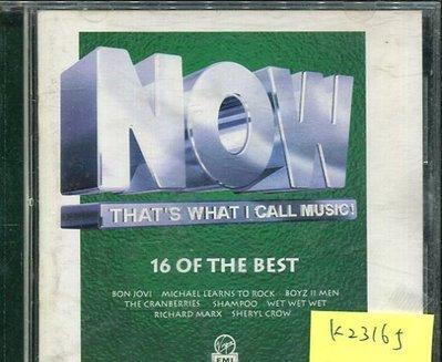 *真音樂* NOW-THAT'S WHAT I CALL MUSIC 二手 K23165