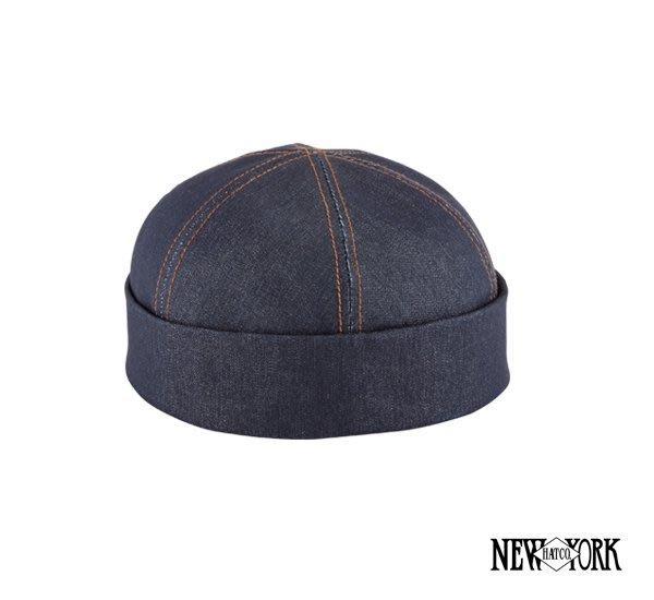 GOODFORIT / 美國New York Hats DENIM THUG法國單寧六片式水手帽款