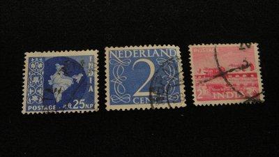 【大三元】亞洲郵票-印度郵票--銷戳票...