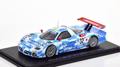 【MASH】[現貨瘋狂價]  Spark 1/43 Nissan R 390 GT1 #32 LeMans 1998