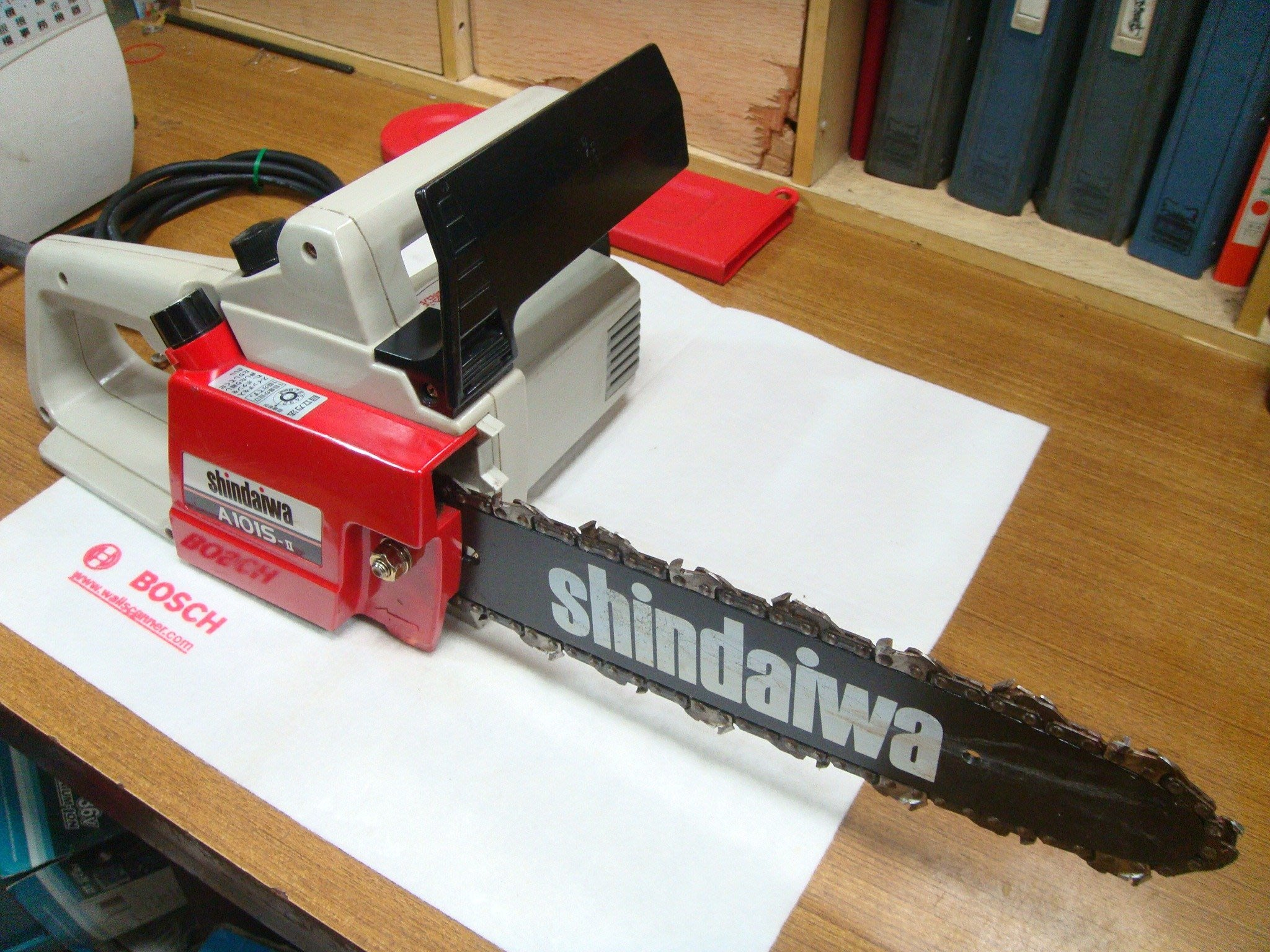 外匯嚴選shindaiwa A101S 新大和 電動鏈鋸機 12 / 中古/二手/日本原裝