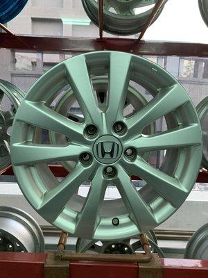 CR輪業 本田 HONDA CIVIC 喜美9代 原廠 16吋鋁圈 完工價:7000 K12 K14 喜美九代 八代