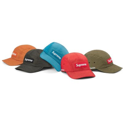 【美國鞋校】預購 SUPREME FW20 Kevla Camp Cap 五分割帽