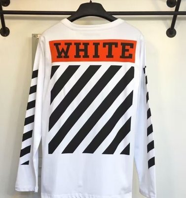 全新正品 2017夏天 OFF WHITE OW cut off 斜紋 13