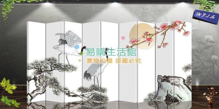 中式時尚屏風改善風水玄隔斷辦公酒店展廳會所家居客廳15【單扇防水】