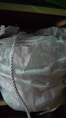 *東北五金*正台灣製 高品質 白色 特多龍繩 尼龍繩 童軍繩 棉繩 綿繩 1分半 優惠特價中!