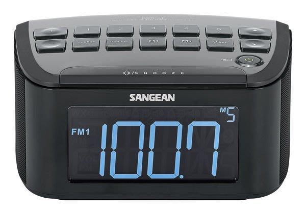 【免運費】SANGEAN 山進二波段數位式時鐘收音機 調頻 / 調幅 / 藍牙 RCR-24