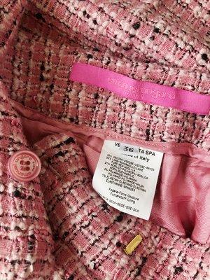 歐洲帶回 tweed 粉嫩春色小香風毛呢長褲