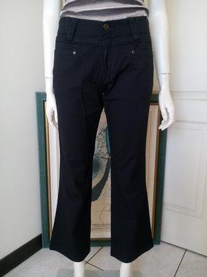 【特價新品】CUTTLE黑色9分褲(女、SIZE:XL號)