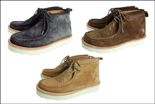 { POISON } SKATOPIA LUXURY WALLABEE SKTP 經典袋鼠鞋靴子