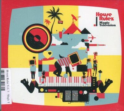【嘟嘟音樂坊】House Rulez Vol. 3 - Magic Television   韓國版   (全新未拆封)